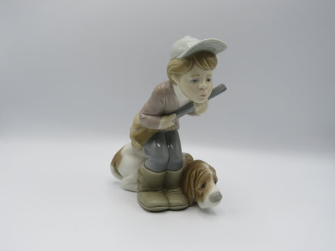 Retired Lladro Hunter Puppet 4971