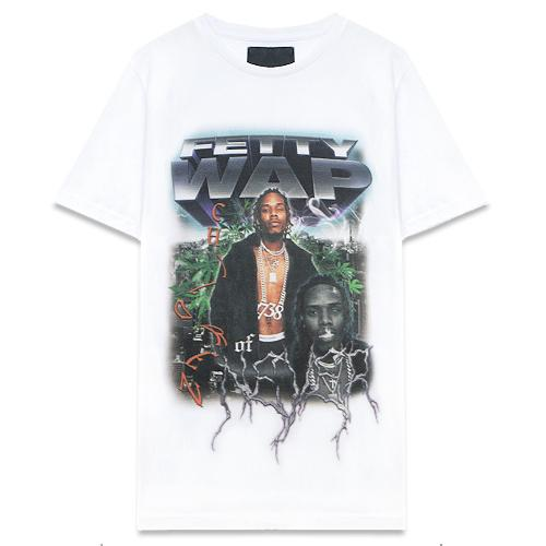 Control Sector x Fetty Wap for Venturer Jp - Tee Shirt White