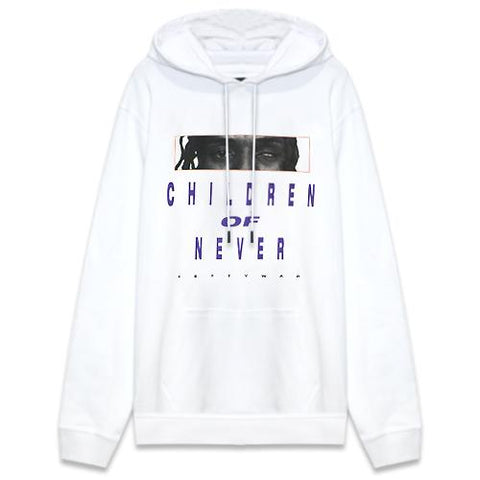 CON1715-01 CHILDREN OF NEVER HOODIE - RED