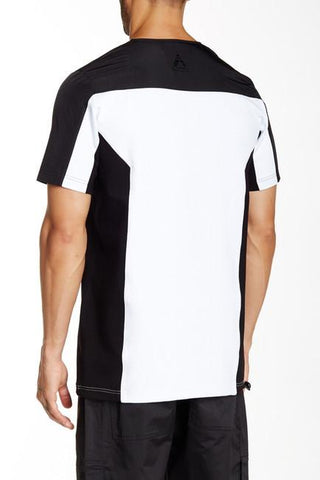 LK1630-03 Ion Tee - Black/White