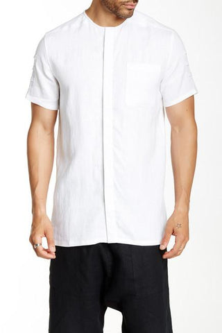LK1620-04 Partical Net Tee - White