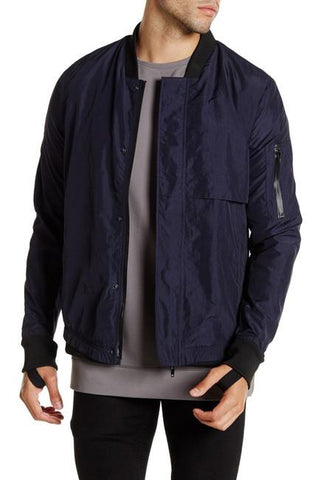 LK1650-01 Nebula Bomber - Midnight Blue