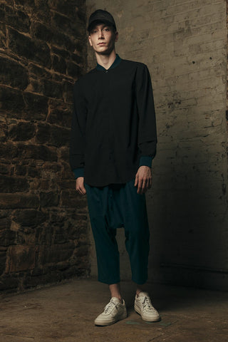 TE1625-01 Breaker Shirt - Black