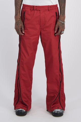 6:2 Convertible Pant Red