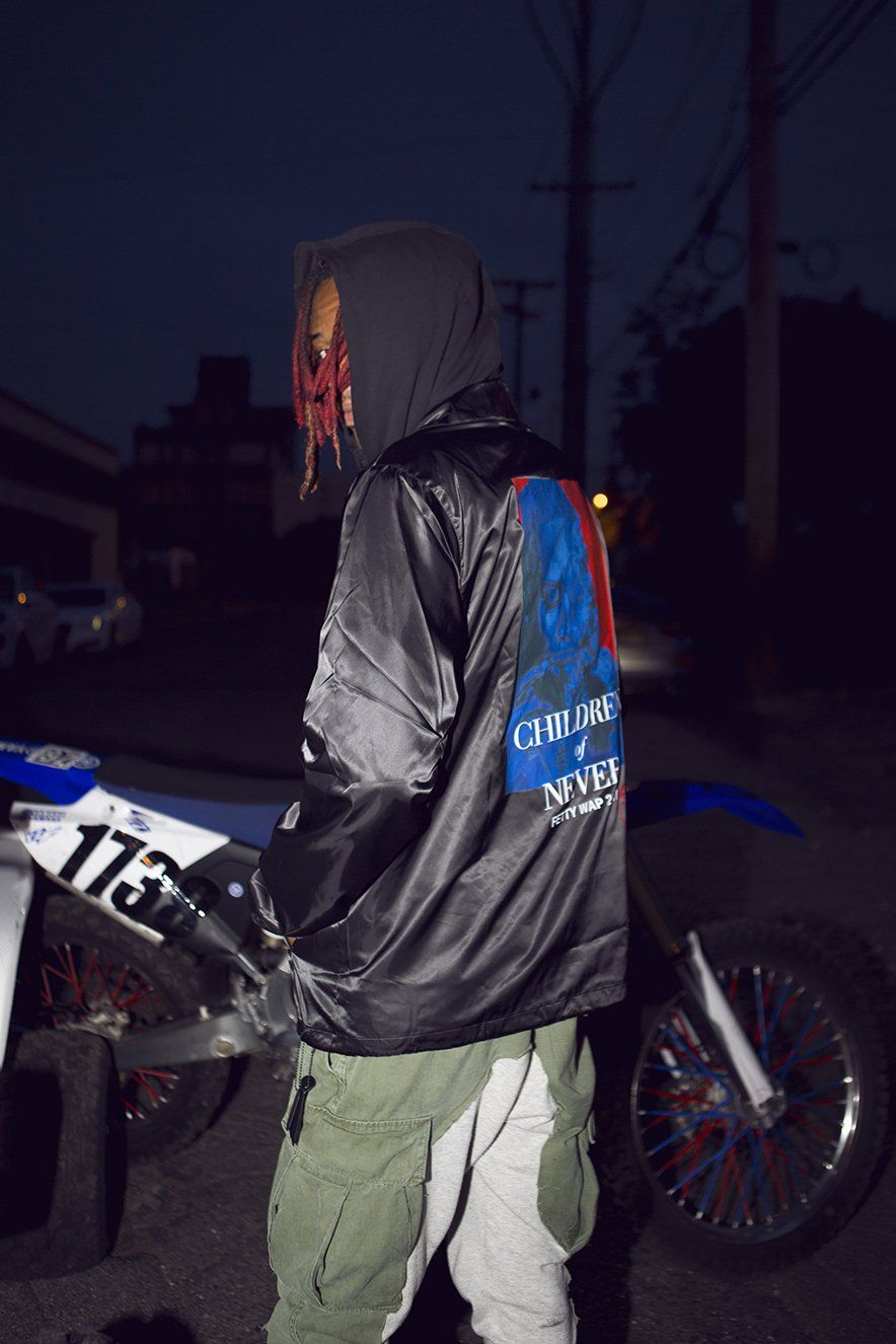 Control Sector x Fetty Wap for Venturer Jp - Coaches Jacket Black