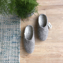 Load image into Gallery viewer, EGOS COPENHAGEN Slippers Natural Grey