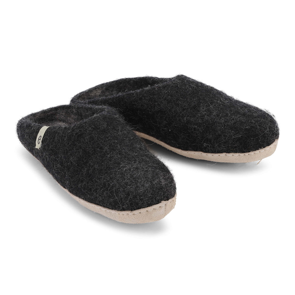 EGOS COPENHAGEN Slippers Black
