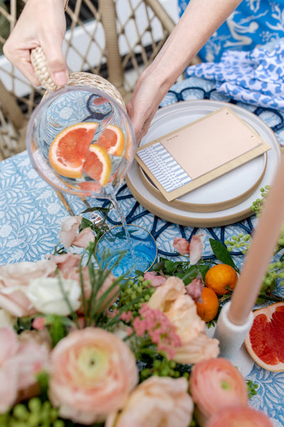 Springtime Entertaining with Sterling Social