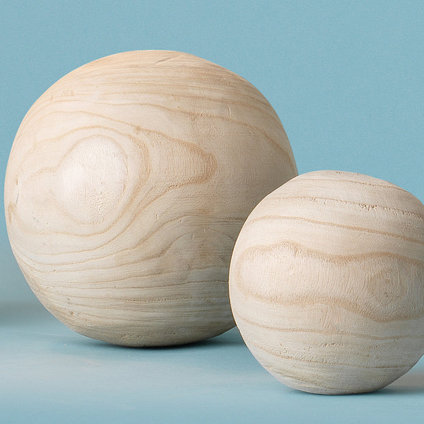 Malibu Wood Spheres (set of 3)