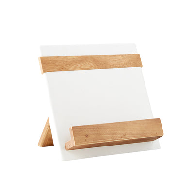 Bali Cookbook Holder - White
