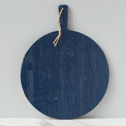Round Charcuterie Board - Navy