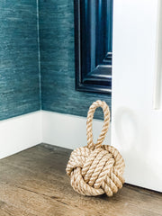 Nautical Knot Door Stopper