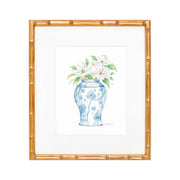 Magnolia Ginger Jar Watercolor Print