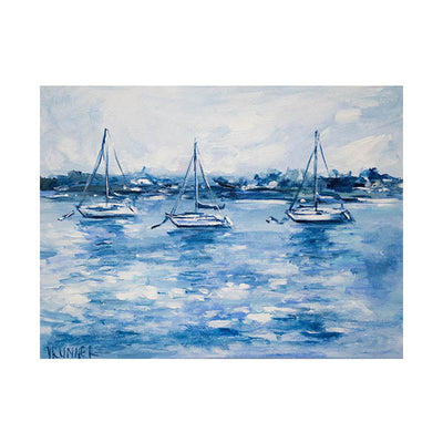 Shades of Blue Original Painting