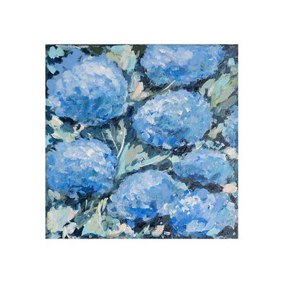 Coastal Blue Hydrangeas Original Painting