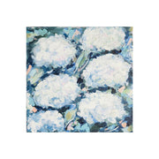 Coastal White Hydrangeas Original Painting
