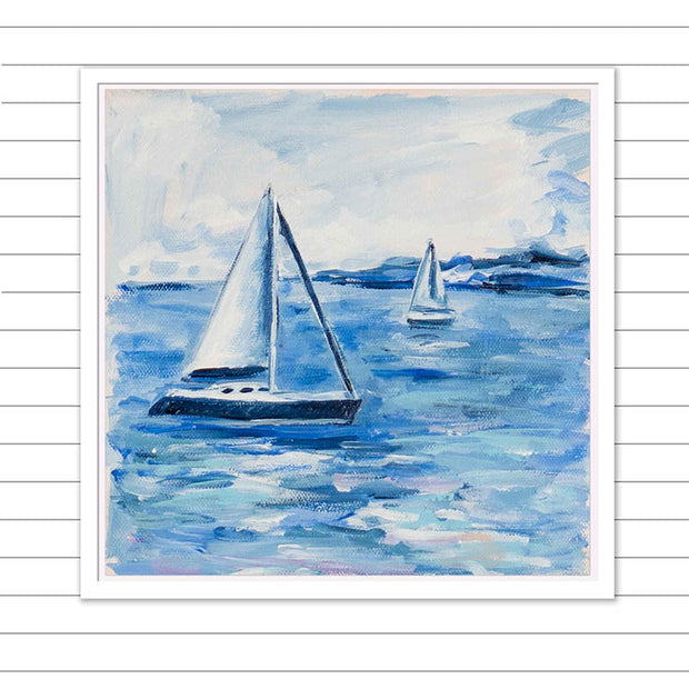 Sailing Life II Original Painting