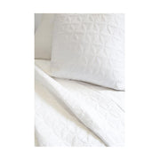 Wilmington Large Euro Sham in White by Pom Pom at Home