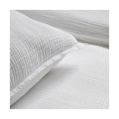 Montauk Sham in White by Pom Pom at Home