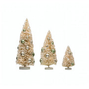 Holiday by the Shore Bottle Brush Trees - Set of 3