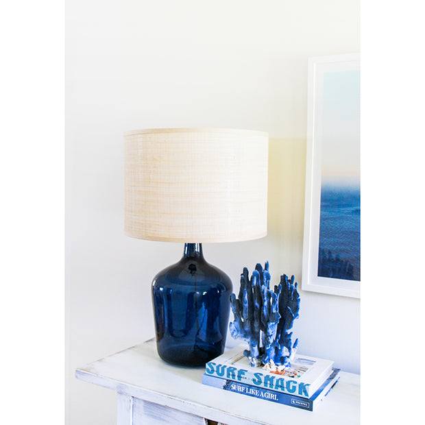 Newport Table Lamp - Navy  Blue