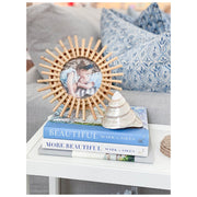 Sunburst Round Photo Frame