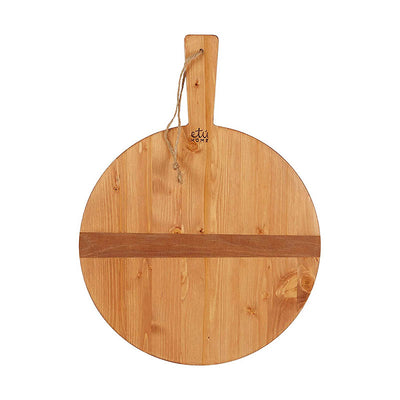 Petit Round Charcuterie Board - Pine