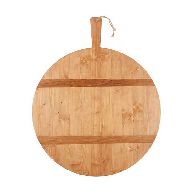 Round Charcuterie Board - Pine