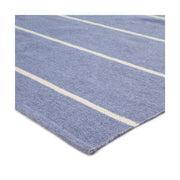 Pismo Stripe Indoor/Outdoor Rug - French Blue/White