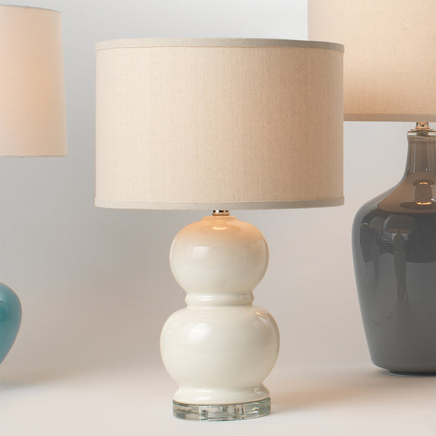 Bubble Table Lamp - Cream