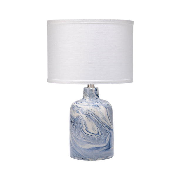 Marbleized Table Lamp