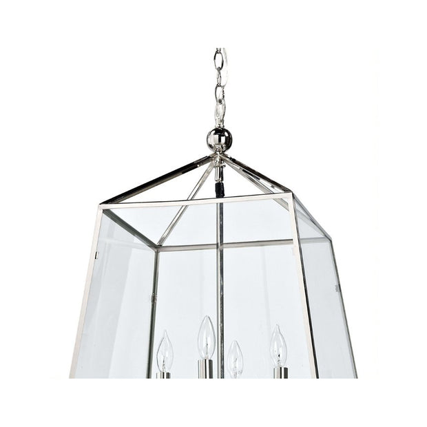 Beaufort Lantern - Polished Nickel