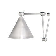 Shelter Island Task Sconce - Polished Nickel