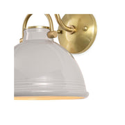 Harwich Ceramic Sconce - Gray