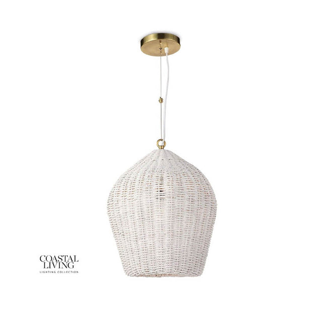 Folly Pendant - White