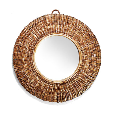 Boardwalk Cane Wall Mirror