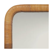 Surfrider Rattan Wall Mirror