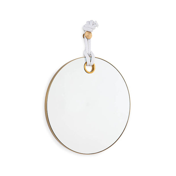 Portofino Wall Mirror - Brass