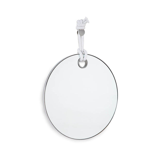 Portofino Wall Mirror - Polished Nickel