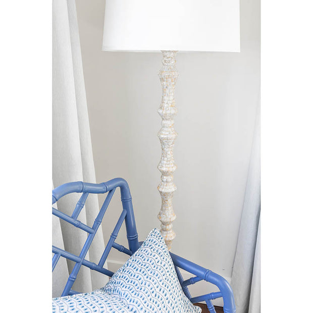 Quogue Mother Of Pearl Floor Lamp