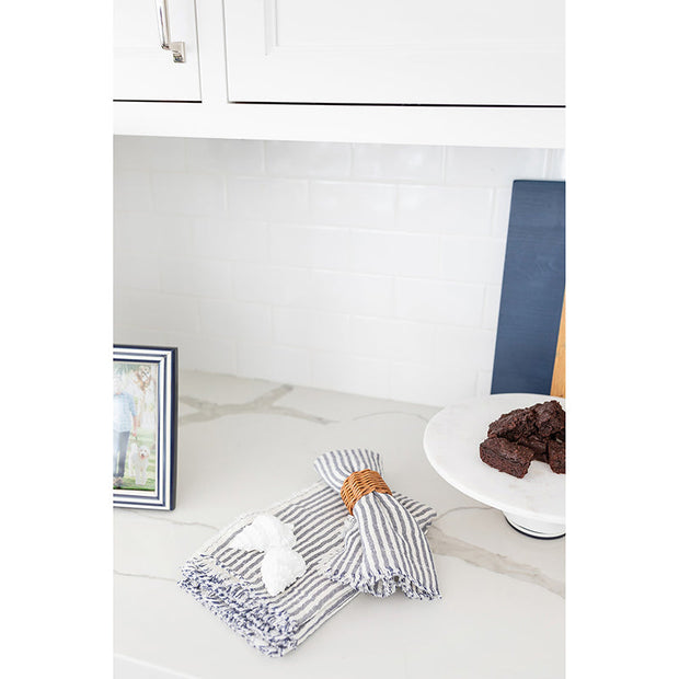 Leland Stripe Napkins by Pom Pom at Home