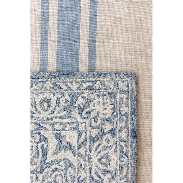 Beachwood Rug in Ivory/Blue by Pom Pom at Home