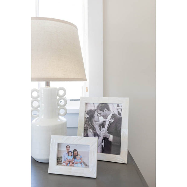 Montecito Mother of Pearl Photo Frame