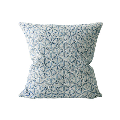 Azure Linen Pillow