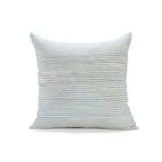 Waves Stripe Linen Pillow - Ocean