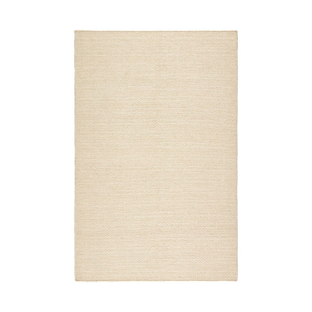Del Rey Wool Rug - Natural/White