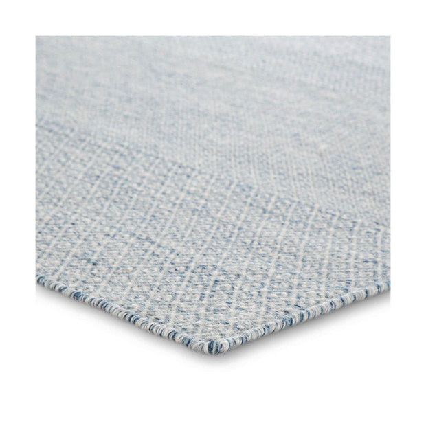 Del Rey Wool Rug - Navy/Gray/White