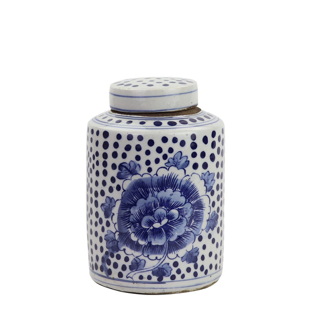 Peony Tea Jar - 2 Sizes