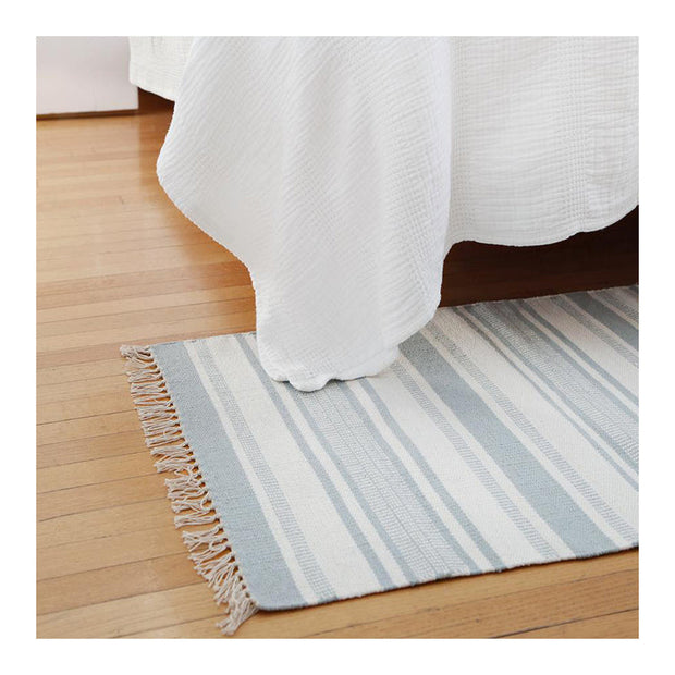 Calypso Rug in Nordic Blue by Pom Pom at Home