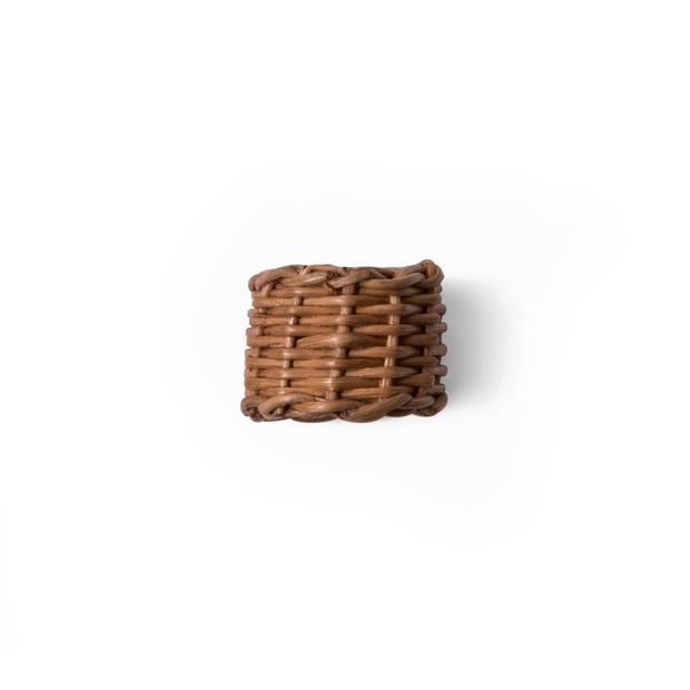 Water Mill Rattan Napkin Ring (Set of 4)